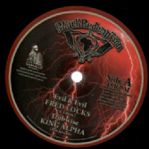 Fred Locks - Evil & Evil / King Alpha - Dubwise / Ras McBean - Stay Away / King Alpha - Dubwise (Black Redemption)10""
